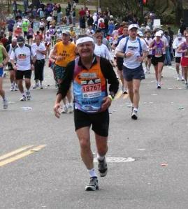 Shlomo Maital Boston Marathon