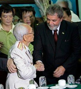 Vo Nguyen Giap, Luiz Inacio Lula da Silva