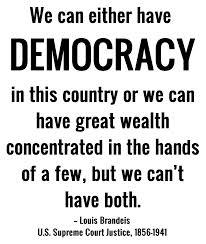 democracy brandeis