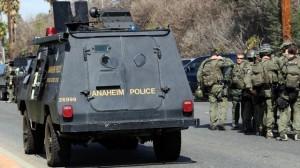 police armored car