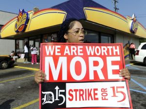 fastfood strike