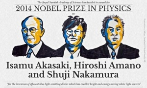 Winners of the 2014 Nobel Prize in Physics